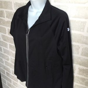NWT Under Armour zip up jacket